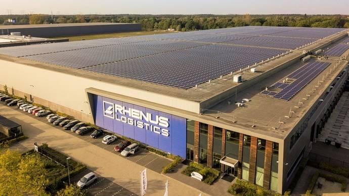 Rhenus apuesta por energía solar en sus instalaciones de Eindhoven