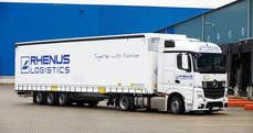 Camión del grupo en una de sus sedes en Asia.