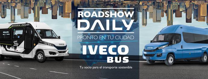 El Roadshow Iveco Bus recorrerá 4.000 km para acercar el nuevo Daily Minibús