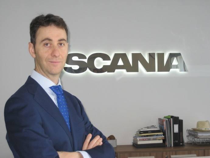 Roberto Hernando, encargado comercial vehículos de ocasión de Scania Ibérica