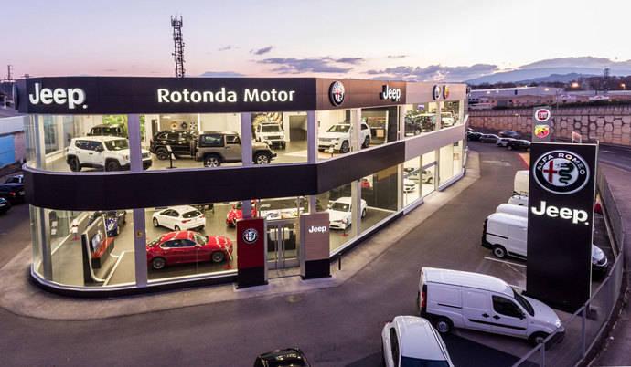 Rotonda Motor, concesionario para venta de las marcas de Fiat Chrysler Spain en La Rioja