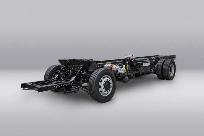 Volta Trucks: primer chasis prototipo operativo del Volta Zero