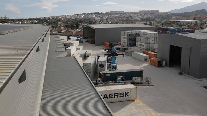 Naves logísticas de SAM Algeciras.