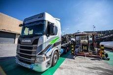 Transordizia incorpora cinco unidades Scania de gas a su flota