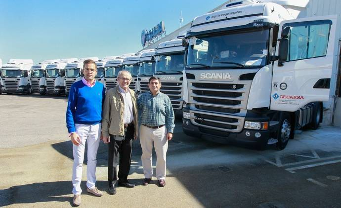 GECARSA sigue confiando en Scania para optimizar el consumo