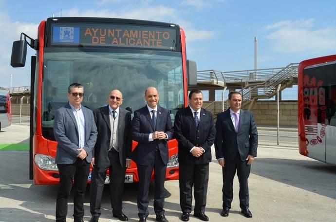 Alicante renueva el 30% de la flota de autobuses urbanos