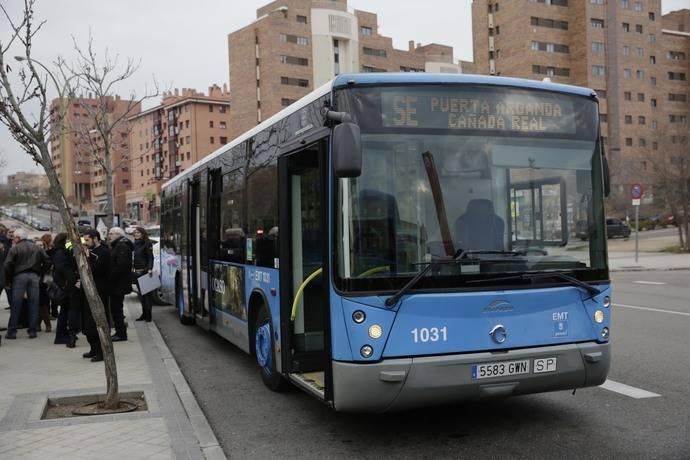 Nuevo servicio especial de EMT Puerta de Arganda-Cañada Real