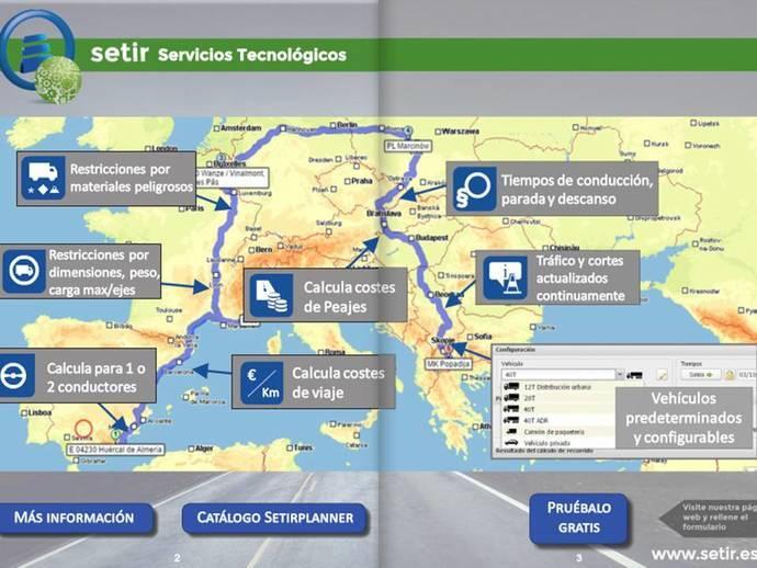 Astic lanza el planificador profesional online de rutas por Europa