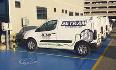 Flota de vehículos de Setram