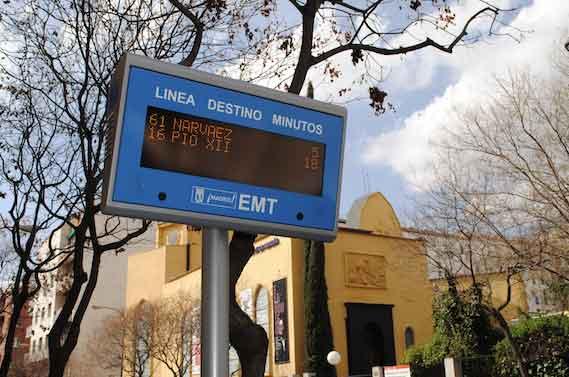 La ONU premia a la EMT de Madrid por sus sistema de información