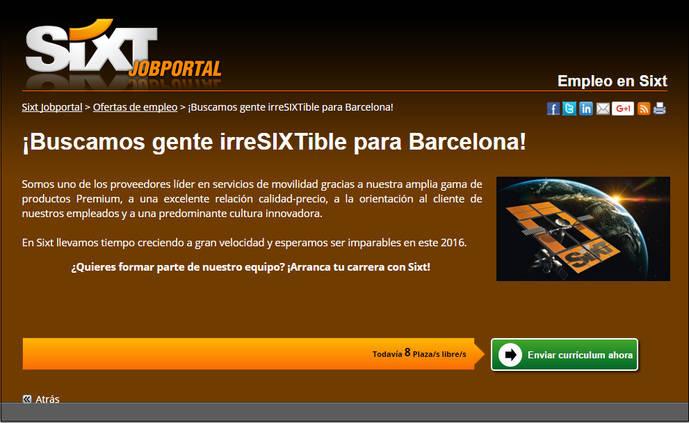 Sixt organiza su 'Talent Day' en Barcelona y Málaga