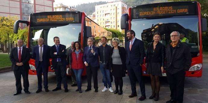 Bilbao incorpora los primeros vehículos híbridos a su flota de Bilbobus