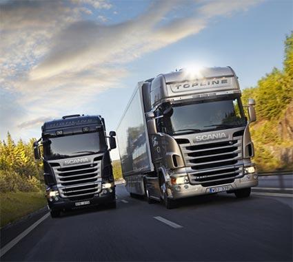 Más de 170.000 vehículos de Scania circulan conectados