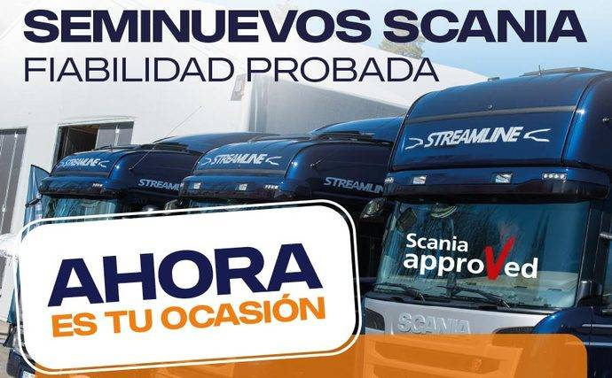 Scania y su campaña de vehículos con cobertura Approved