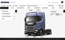 Configura tu propio camión con Scania Configurator