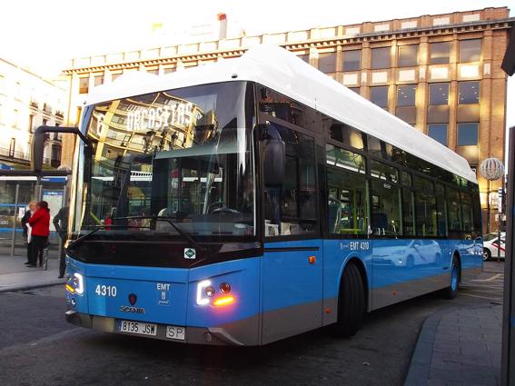 Scania recibe la adjudicación de 160 autobuses por parte de EMT Madrid