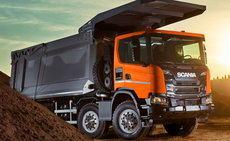 MINExpo 2021: Scania impulsa el cambio con su volquete pesado 8x4