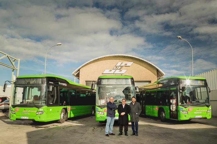 Julián de Castro acaba de adquirir 3 unidades Scania Citywide Híbrido