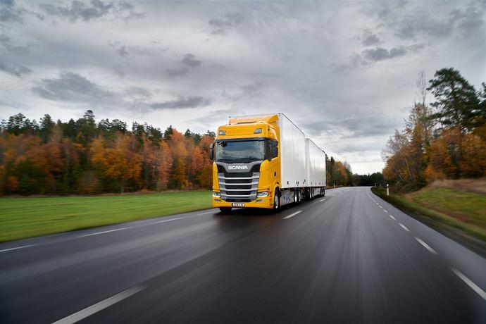 Scania lidera el mercado de camiones al cierre del primer trimestre del año