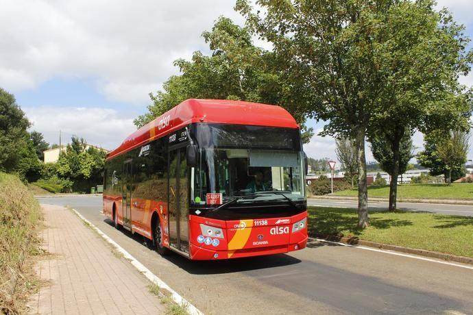 Scania suministra los primeros buses de biometano en Zaragoza