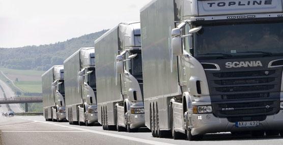 Scania lidera el platooning de camiones de carga autónomos