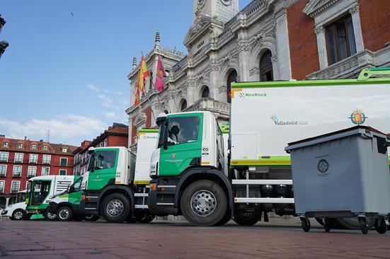 El Ayuntamiento de Valladolid ha adquirido tres vehículos Scania de recogida de residuos
