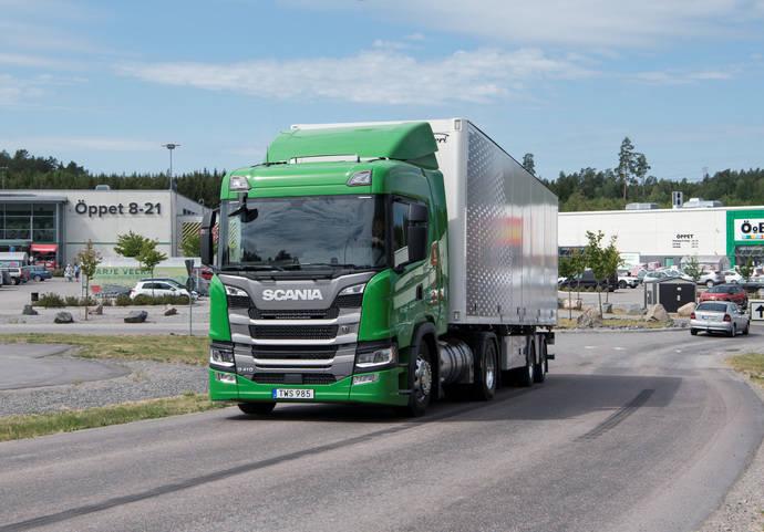 Scania Ibérica cierra 2018 como líder de mercado en camiones de 16 toneladas