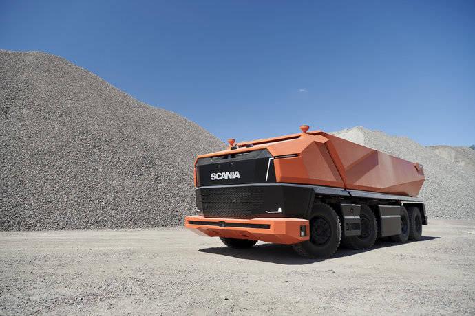 Un nuevo concepto pionero sin cabina, las claves del Scania AXL