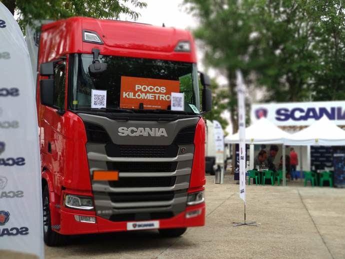 Scania estará en la Feria de Vehículos Industriales