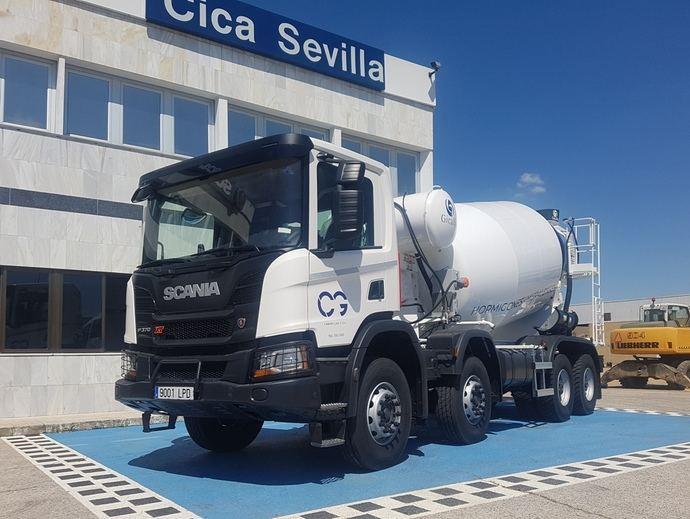 Tres Scania XT se van para Camas, en Sevilla