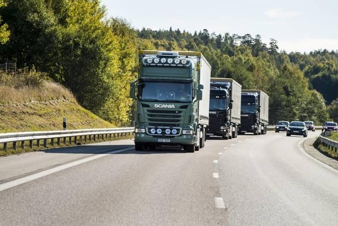 Platooning: Scania lidera su desarrollo