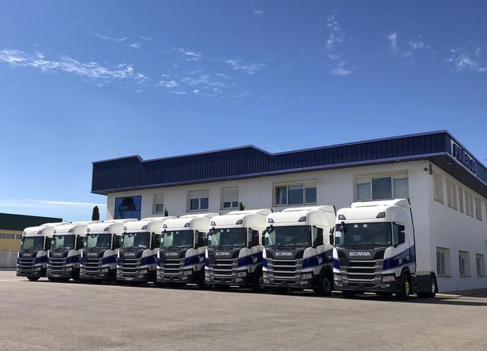 20 Scania R 450 para la flota de Pañalón