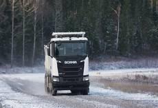 Scania XT 8×4.