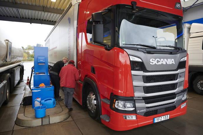 Scania gana la prueba europea de los 1.000 puntos