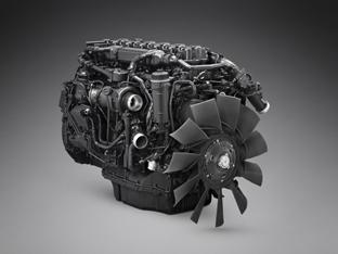 Scania presenta un motor de gas de 13 litros