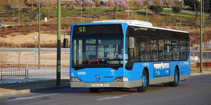EMT de Madrid prestará tres servicios de autobús para sustituir la línea 8 de Metro