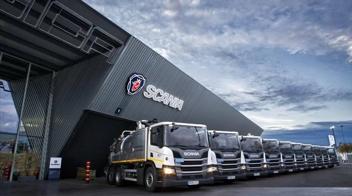 Servicios y Mantenimientos Joga incorpora 10 unidades rígidas de Scania