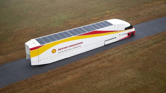 Shell y AirFlow Truck presentan el Starship