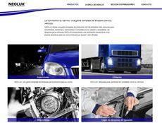Neolux presenta su nueva plataforma web, ahora en español