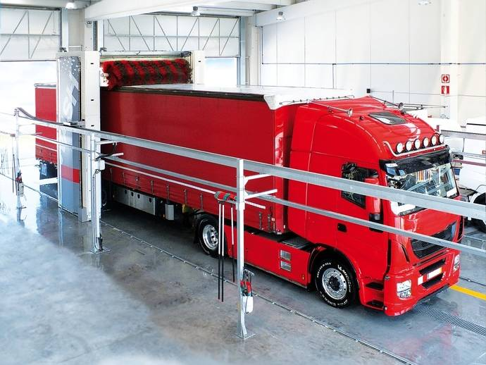Smartwash for fleets de Istobal, para automatizar lavado flotas de vehículos