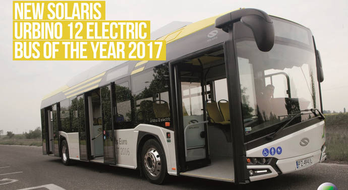 El Urbino eléctrico de Solaris es elegido Bus of the Year 2017