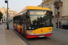 Diez nuevos autobuses eléctricos de Solaris para la ciudad polaca de Varsovia