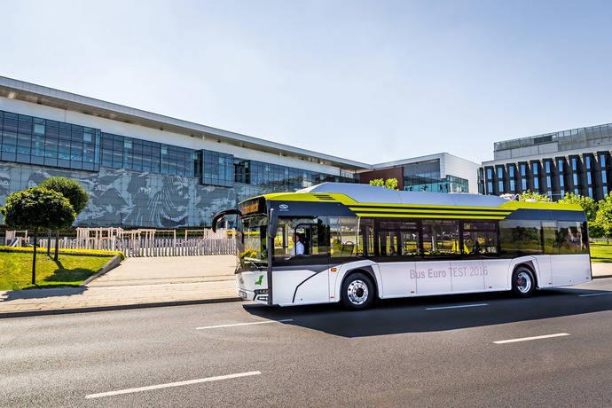 Un autobús eléctrico de Solaris realiza pruebas en Madrid y Zaragoza