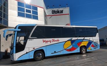 Somauto entrega un midibus a Autocares Vázquez Olmedo