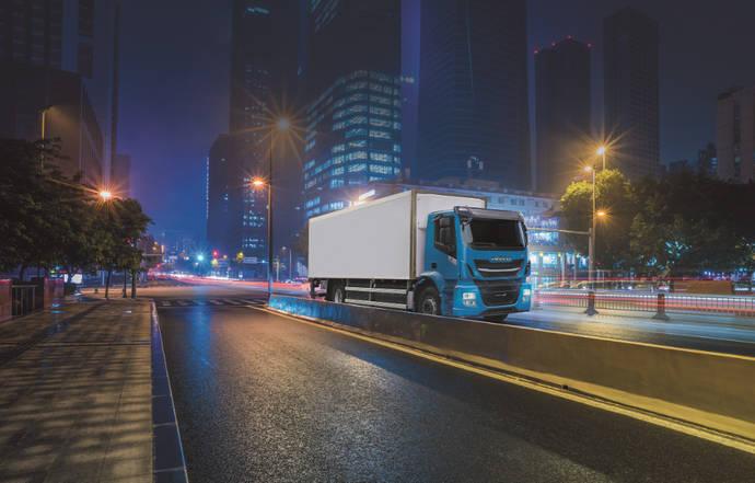 Iveco Stralis NP es perfecto para realizar entregas nocturnas