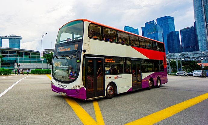 SBS Transit y Stratio: monitoreo de autobuses en Singapur