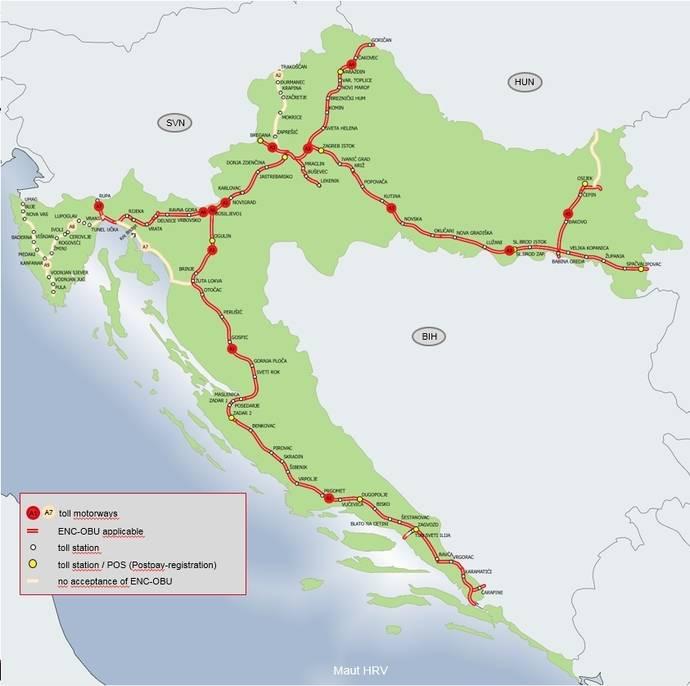 UTA permite la facturación de las tasas de peaje en Croacia