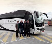 Sunsundegui entrega el nuevo SC7 a Autobuses Ángel Herrera