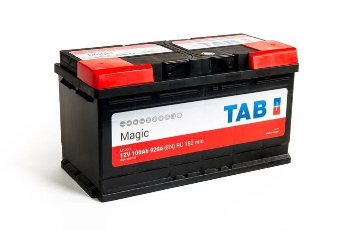 Una de las baterías de TAB.