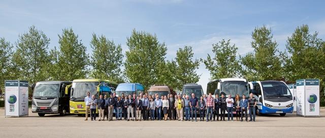 Ifema ha sido escenario de las pruebas del Mini Bus of the Year